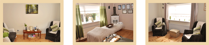 Cloghans Therapy Centre Treatment and Relaxation Rooms